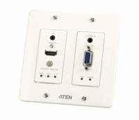 ATEN VE2812UST HDMI & VGA HDBaseT Transmitter with US Wall Plate