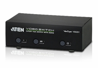 ATEN VS0201 2-Port VGA/Audio Switch w/RS232