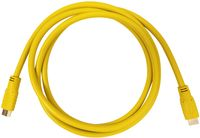 Aurora Multimedia CA-HDMI-YEL-2 HDMI 2.0a 18Gbps Yellow Cables