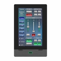 Aurora RXT-10-B 10in in-Wall ReAX IP Touch Panel Control System Black