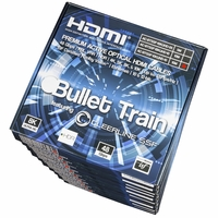 AVPro Edge AC-BTSSF-10KUHD-15-MP Bullet Train 10 Pack 15M HDMI Cables