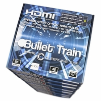 AVPro Edge AC-BTSSF-10KUHD-80-MP Bullet Train 10 Pack 80M HDMI Cables