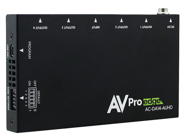 AVPro Edge AC-DA14-AUHD 18Gbps Distribution Amplifier