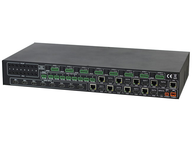 AVPro Edge AC-MX88-AUHD-HDBT 8x8 HDBaseT Matrix Switch