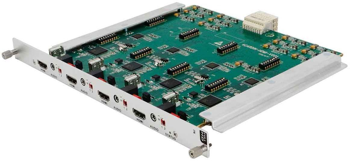 Build a 4K Modular HDMI Matrix Switcher in a 64x64 Chassis