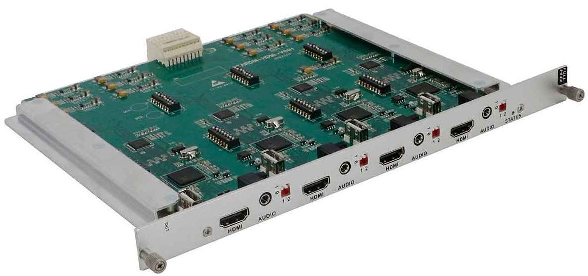 Build a 4K Modular HDMI Matrix Switcher in a 72x72 Chassis
