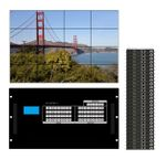 Build a WolfPackGold Matrix Switcher w/Video Wall Function in a 36x36  Chassis
