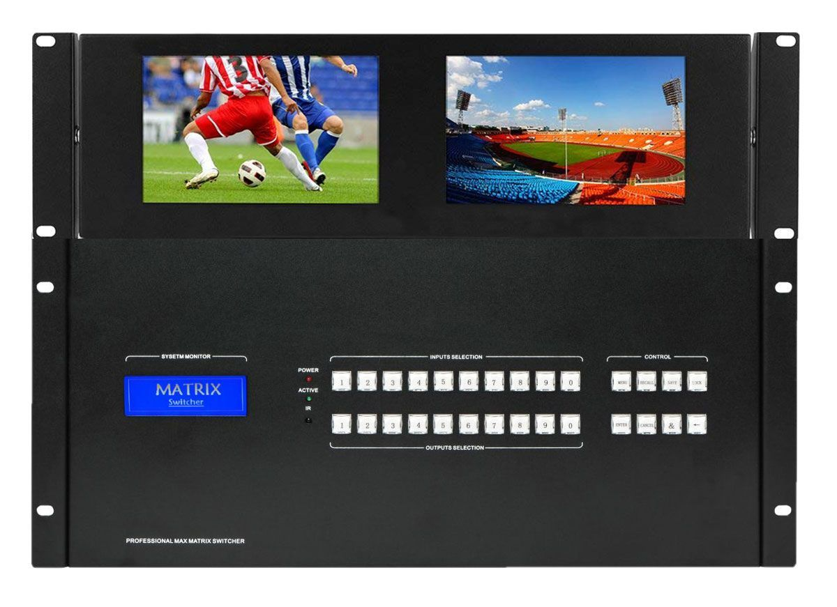 Build a 1080p Modular HDMI Matrix Switch From a 4x4 to 72x72 w/Video Wall