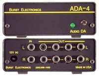 Burst Electronics ADA-4 1x4 Audio DA