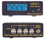 Burst Electronics VS-4X1 Vertical Interval 4x1 Active Switcher