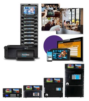 Buzztime™ Videos with WolfPack™ HDMI Matrix Systems