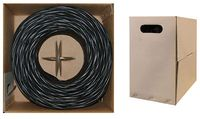 CAT6 Bulk Cable - 1,000 Foot - Solid, Stranded or Plenum