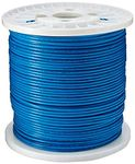 1,000ft Blue CAT6 Stranded PVC Bulk Cable
