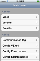 iPad App for Colorado Matrix Switchers - Media Player Included