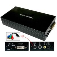 Component / Composite / S-Video to DVI-D / HDTV Scaler / Converter