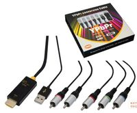 Component to HDMI Cable