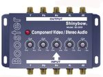 Shinybow SB-2820 Component Video + Audio Booster w/Equalizer - TAA Compliant