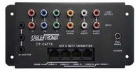 Component Video + Audio to CAT5 Transmitter / Receiver Set