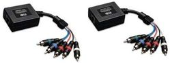 Component Video Balun with Analog Audio Set to 300'