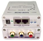 Shinybow SB-6230R Component Video (Ypbpr) to CAT5 Repeater+Receiver