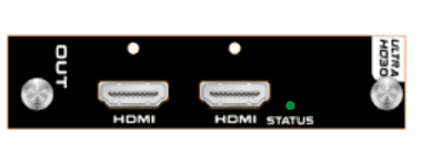 4K/30 HDMI Output Card with 2-HDMI Outputs