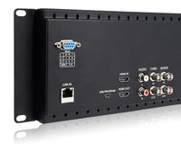 Dual HDMI Rack Mount Displays with Audio
