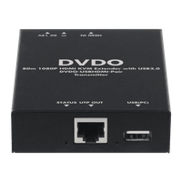 DVDO USBHDMI-Pair HDMI 1080p and USB 2.0 over Ethernet (80M)