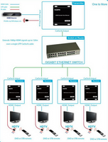WolfPack Ethernet Switch For Our HDMI Over LAN Systems