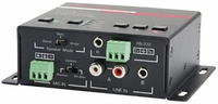 Hall Research AMP-4840 40 Watt Audio Amplifier with Microphone Mixer