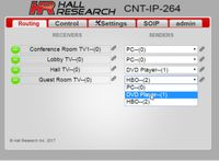 Hall Research CNT-IP-264 Programmable Video over IP Controller