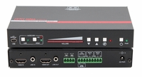 Hall Research EMX-AMP 4K HDMI Audio Extractor with Audio Amplifier