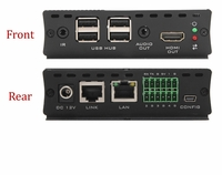 Hall Research EX-HDU-R HDMI & USB Extension on CAT6 w/Audio Receiver