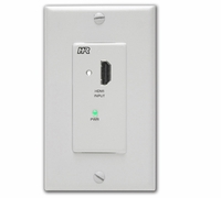 Hall Research UH-2D-S-DP HDMI over dual CAT6 Decora Wallplate (Sender)
