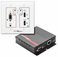 Hall Research UHBX-SW3 VGA, HDMI, MHL Auto-Switching Wall-Plate