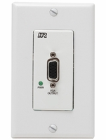 Hall Research UV1-R-DP Video over UTP Decora Plate (Receiver)