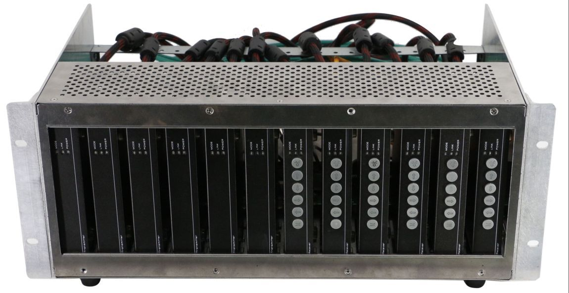 HDBaseT Rack Mount Enclosure