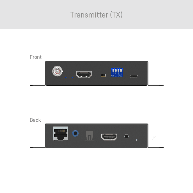 4K 60 HDMI 2.0a Audio Extractor & CAT5 Extender with ARC
