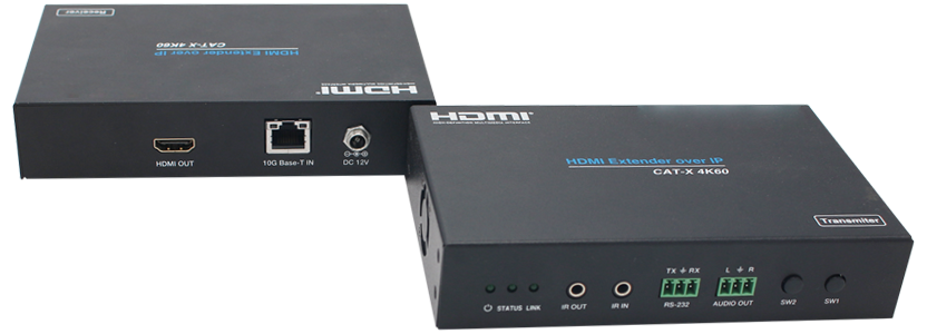 4K60 (4:4:4) HDMI Extender over IP