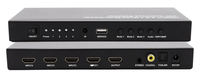 HDMI 4X1 Quad Multi-Viewer with Seamless Switcher