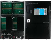 HDMI Matrix Switchers over CAT5 in an 64x64 Chassis