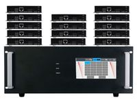 4K HDMI Matrix Switchers w/Color Touch Screen & HDMI over CAT5 Extenders in 18x18 Chassis (48)
