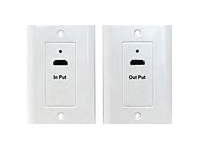 HDMI over CAT-5 / 6 Wallplates to ~75 feet - 1080p & HDMI 1.3