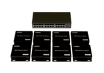You Design a WolfPack HDMI Over IP Network w/WEB GUI - Configure as an HDMI Switch, Splitter or Matrix