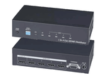 HDMI Splitter 1x4 with 4Kx2K Resolution