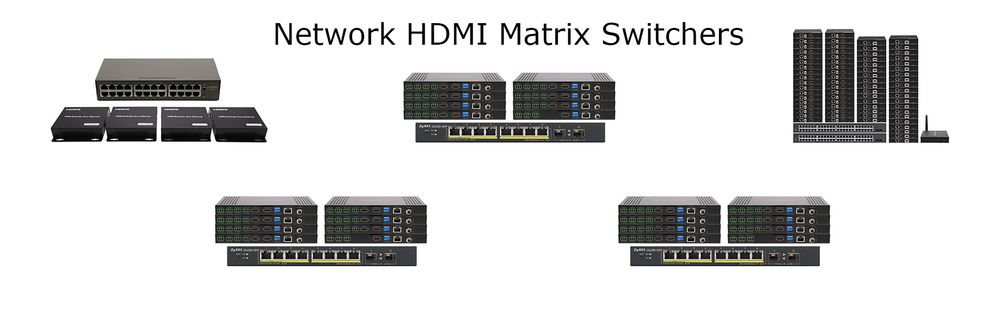 HDMI Matrix Switchers over LAN