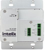 Intelix AS-2H-WP-W-BSTK 2 HDMI Auto Switch Wall Plate WH