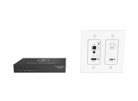 Intelix DL-1H1A1UC-WPKT-W Digitalinx HDMI, HDBaseT Wall Plate Set