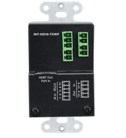 Intelix INT-HD70-TXWP HDMI HDBaseT Wall Plate Transmitter