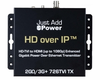 Just Add Power VBS-HDIP-726TVI 2G/3G+ 1080P POE TVI Transmitter