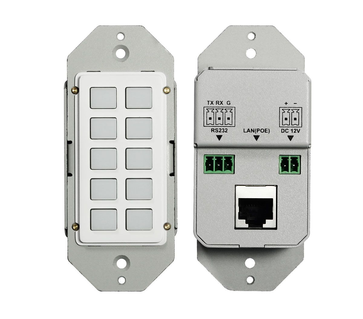 10-Button Keypad for WolfPack Matrix Systems